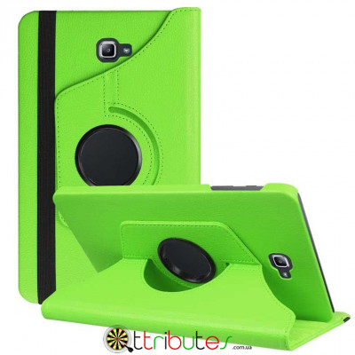 Чехол Samsung Galaxy tab a 10 t585 t580 apple green 360 градусов