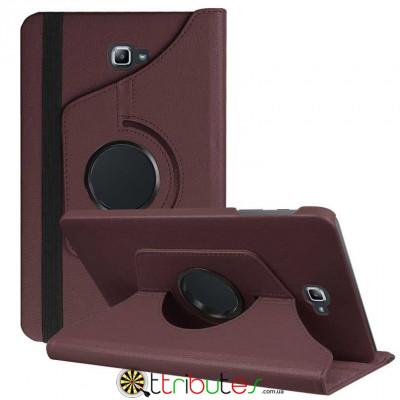 Чехол Samsung Galaxy tab a 10 t585 t580 brown 360 градусов