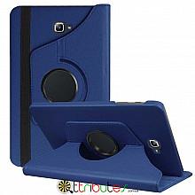 Чехол Samsung Galaxy tab a 10 t585 t580 dark blue 360 градусов