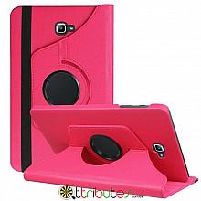 Чохол Samsung Galaxy tab a 10 t585 t580 rose red 360 градусов
