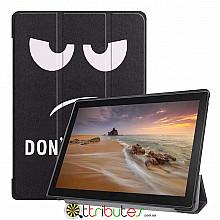 Чехол Lenovo Tab E10 TB-X104F 10.1 Print ultraslim don't touch