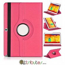 Чохол samsung Note 10.1 2014 P6010 360 градусов rose red