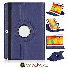 Чехол samsung Note 10.1 2014 P6010 dark blue 360 градусов