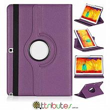 Чехол samsung Note 10.1 2014 P6010 purple 360 градусов