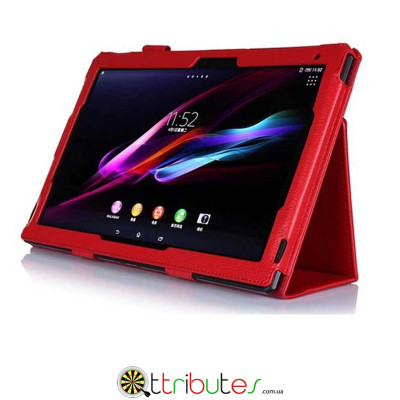 Чехол Sony Xperia Tablet Z2 Z1 10,1 Sony book cover classic red