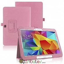 Чехол Samsung Galaxy Tab 4 10.1 T531 T530 T535 Classic book cover pink