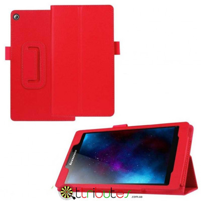 Чехол Lenovo Tab2 7.0 A7-30 Classic book cover red
