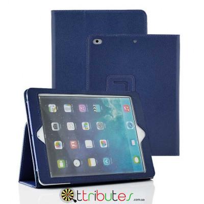 Чехол iPad air 2 9.7 Classic book cover dark blue