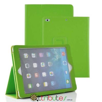 Чехол Apple iPad 2017 2018 9.7 Classic book cover apple green