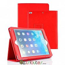 Чехол iPad air 1 9.7 Classic book cover red