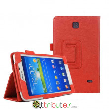 Чехол samsung Galaxy Tab 4 7.0 (SM-T230, T231) Classic book cover red