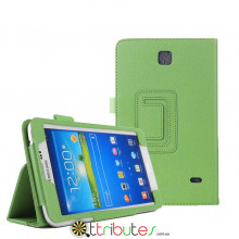 Чехол samsung Galaxy Tab 4 7.0 (SM-T230, T231) Classic book cover apple green