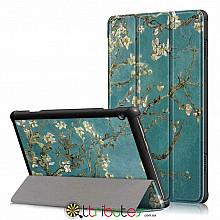 чехол Lenovo Tab M10 TB-X605L x505 10.1 Print ultraslim bloomy tree