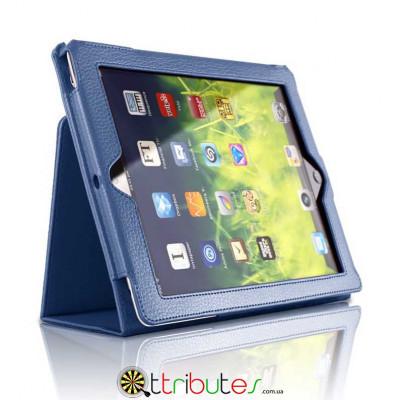 Чехол iPad mini 1 2 3 7.9 Classic book cover dark blue