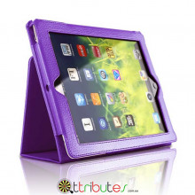 Чехол iPad mini 1 2 3 7.9 Classic book cover purple