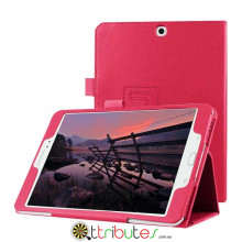 Чехол Samsung galaxy tab S2 9.7 sm-t810 t813 t815 t819 Classic book cover rose red