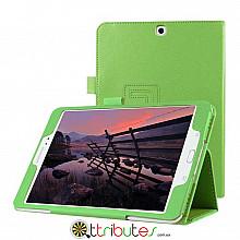 Чехол Samsung galaxy tab S2 9.7 sm-t810 t813 t815 t819  Classic book cover apple green