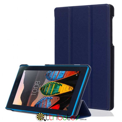 Чехол Lenovo Tab 3 7.0 730 F / L Moko ultraslim dark blue