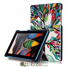 Чехол Lenovo Tab 3 7.0 730 F / L Print ultraslim tree