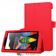 Чохол Lenovo Tab 3 7.0 730 F / L Classic book cover red