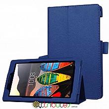 Чехол Lenovo Tab 3 7.0 730 F L Classic book cover dark blue