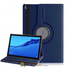 Чохол HUAWEI MediaPad M5 Lite 10.1 360 градусів dark blue