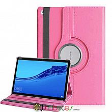 Чохол HUAWEI MediaPad M5 Lite 10.1 360 градусів pink