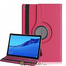 Чохол HUAWEI MediaPad M5 Lite 10.1 360 градусів rose red