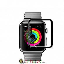 Закаленное стекло 3D tempered glass 9h  для Apple Watch 38 мм