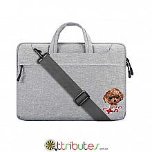Сумка для ноутбука 11-12 дюймів Cartinoe grey dog