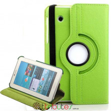 Чохол SAMSUNG GALAXY tab 2 7.0 p3100, p3110 360 градусов apple green