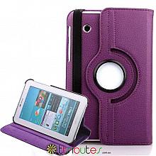 Чохол SAMSUNG GALAXY tab 2 7.0 p3100, p3110 360 градусов purple