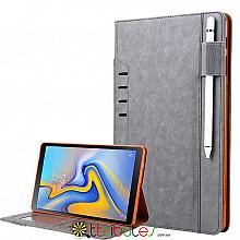 Omar  чехол для Samsung Galaxy Tab S4 10.5 sm-t835 t830  book cover grey
