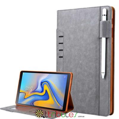 Omar Чохол для Samsung Galaxy Tab S4 10.5 sm-t835 t830 book cover grey