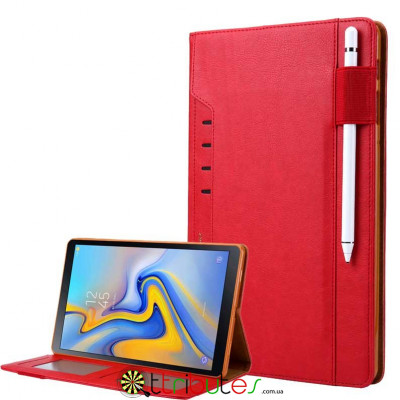 Omar Чохол на Samsung Galaxy Tab S4 10.5 sm-t835 t830 book cover red