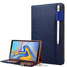 Omar  чехол на Samsung Galaxy Tab S4 10.5 sm-t835 t830 book cover dark blue