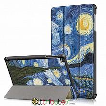 Чехол Samsung Galaxy Tab A 8.0 2019 SM T295 t290  Print ultraslim night