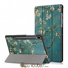 чехол Samsung Galaxy Tab S6 10.5 SM-T860 T865 Print ultraslim bloomy tree