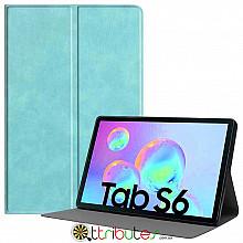 Чехол Samsung Galaxy Tab S6 10.5 SM-T860 T865 Fashion book sky blue