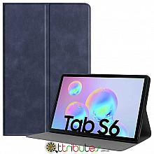 Чехол Samsung Galaxy Tab S6 10.5 SM-T860 T865 Fashion book dark blue