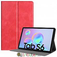 Чехол Samsung Galaxy Tab S6 10.5 SM-T860 T865 Fashion book red