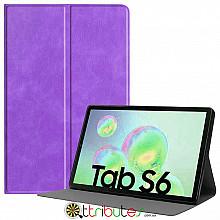 Чехол Samsung Galaxy Tab S6 10.5 SM-T860 T865 Fashion book purple
