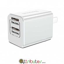 Блок зарядки 2 USB 2.4a Baseus