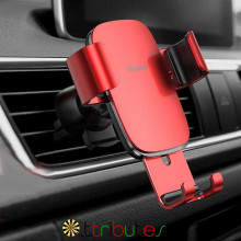 Baseus Автомобильное крепление для телефона red