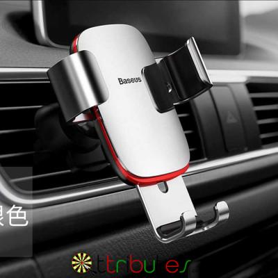 Baseus Автомобильное крепление для телефона Silver