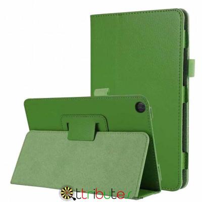 Чехол HUAWEI MediaPad M5 Lite 8.0 Classic book cover apple green