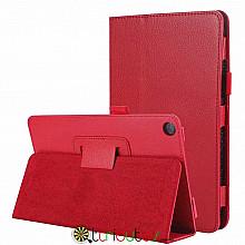 Чохол HUAWEI MediaPad M5 Lite 8.0 Classic book cover red