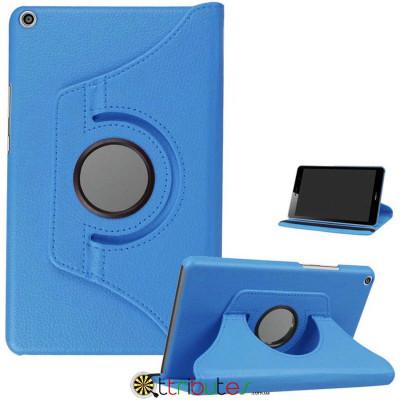 Чехол HUAWEI MediaPad M5 Lite 8.0 360 градусов sky blue