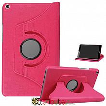 Чехол HUAWEI MediaPad M5 Lite 8.0 360 градусов rose red