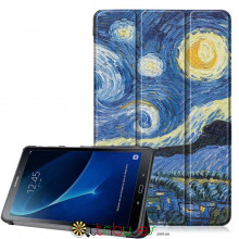 Чехол Samsung Galaxy tab a 10 t580 t585 Print ultraslim night